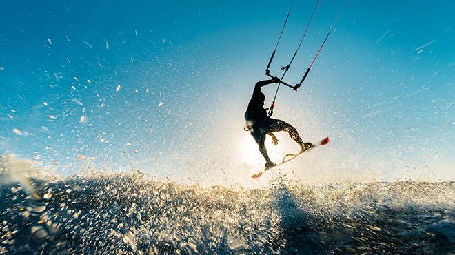 Abenteuersport im Ebrodelta
