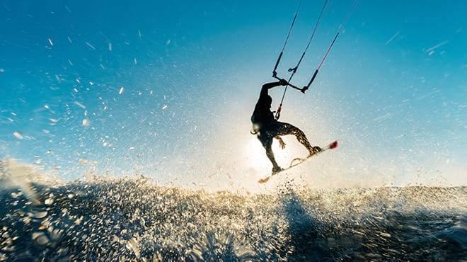 Adventure sports in the Ebro Delta
