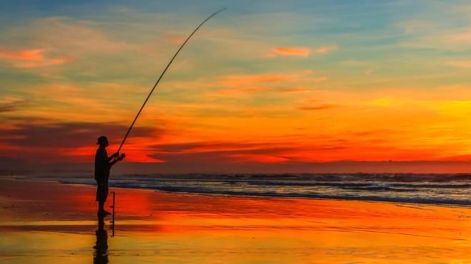 Fishing in the Ebro Delta